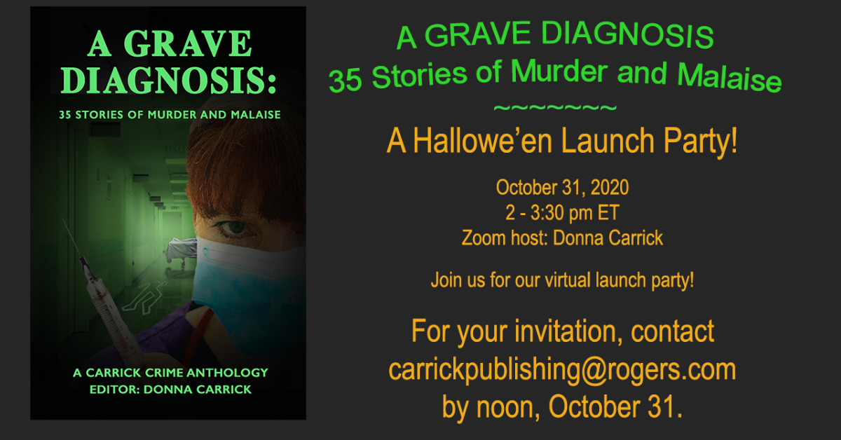 A Hallowe'en 2020 Launch Party