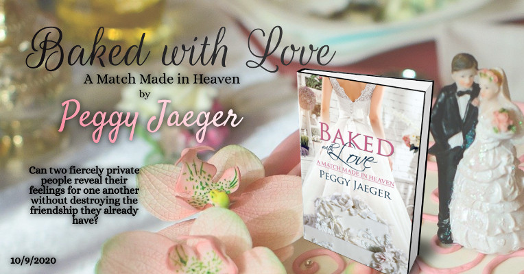 Baked With Love by Peggy Jaeger image and tagline