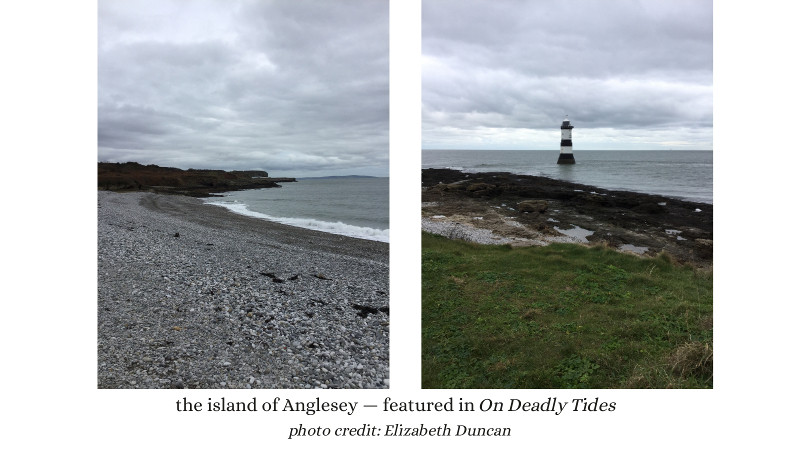 the island of Anglesey